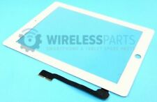 For iPad 3 & 4 - Digitizer Touch Screen - White (With OEM Adhesive)