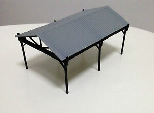 Outland Models Railway Small Shed for Autos / Goods HO OO Gauge