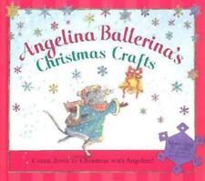 Angelina Ballerina Christmas Crafts Activity Book plus Stickers New