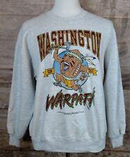VTG 90's NFL Washington Redskins on the WARPATH Sweatshirt by Jewel & Co Sz XL