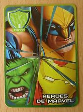 "2009 MEXICO MARVEL HEROES CARDS GAME ""COMBAT OF POWERS"" MEXICAN PROMOTION"