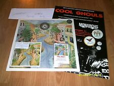 COOL GHOULS-ANIMAL RACES LP/CD/TAPE(MELODIC)SIGNED+POSTER+4 BADGES