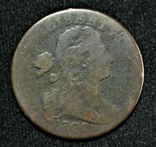 1802 1/000 United States, One Cent, Good