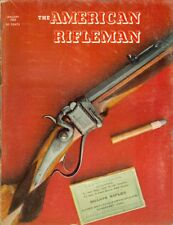 1968 American Rifleman Magazine: M16 Future/Vietnam Snipers/Colt Bronze-Frame Mo