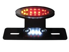 LED Rear Brake Tail Light with Integrated Indicators Motorbike Trike