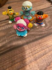 Lot of 4 Sesame Street Figures playskool