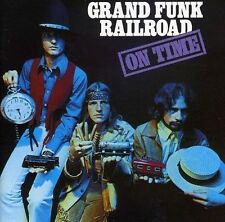 GRAND FUNK RAILROAD ON TIME 2 Extra Tracks REMASTERED CD NEW