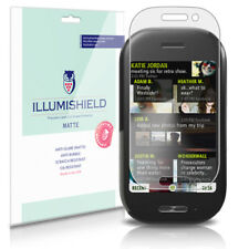iLLumiShield Anti-Glare Matte Screen Protector 3x for Microsoft KIN TWO / TWOm