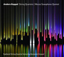 Anders Koppel : Anders Koppel: String Quartets/Mezzo Saxophone Quintet CD
