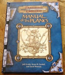Manual of the Planes 3rd edition - D&D Dungeons & Dragons - UK Seller