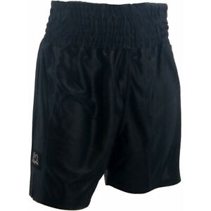 Rival Traditional Cut Dazzle Boxing Trunks - Black