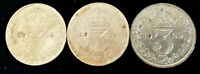 GEORGE V .1918/19/20 SILVER 3d