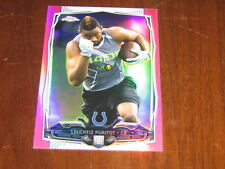 2014 Topps Chrome Mini Pink Refractor Loucheiz Purifoy #/25