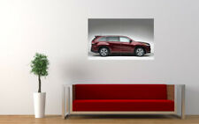 "TOYOTA HIGHLANDER KLUGER SIDE PRINT WALL POSTER PICTURE 33.1""x20.7"""