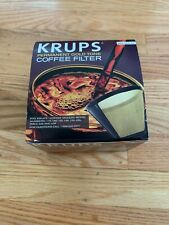 KRUPS Permanent Gold Tone Coffee Filter  No.049-33