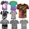 3D Print Hypnosis Fashion Womens Mens Casual T Shirt Short Sleeve Graphic Tee