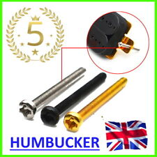 More details for humbucker mounting screws guitar pickup 3 mm x 30 mm height les paul pickup 🎸uk