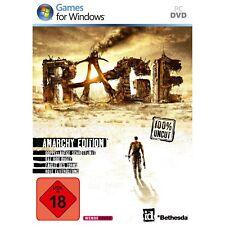 PC juego de ordenador *** Rage Limited Anarchy Edition *** neu*new*18