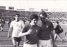 Calcio/football Foto Italia-Polonia anni'70/'80 Bettega-Rossi originale