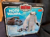 Vintage Star Wars Kenner 1981 ESB Hoth Wampa in unopened box