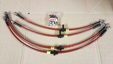 MG ZR 1.4 1.6 1.8 16v 2.0 TD stainless steel braided brake hose / line kit R2