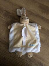 Kaloo Baby Leaves bunny rabbit comforter cream puppet doudou soft toy lapin