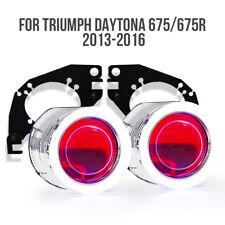 KT Halo Eye HID Projector Lens for Triumph Daytona 675 675R 2013 2016 Headlight