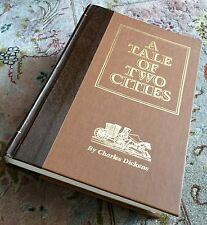 """Collectable """"A Tale of Two Cities"""" Hardback Book Charles Dickens Reader's Digest"""