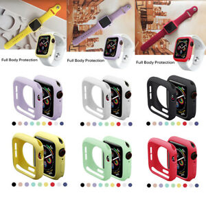 TPU Bumper Cover Anti-Scratch Protective Case Cover iWatch Series SE 6 5 4 3 2 1