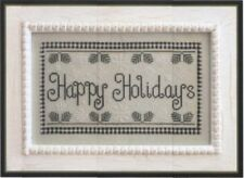 COUNTRY COTTAGE NEEDLEWORKS: HAPPY HOLIDAYS CROSS STITCH PATTERN