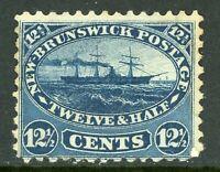 Canada 1860 New Brunswick 12¢ Steamship Scott #10 Mint F260 ⭐⭐⭐⭐⭐⭐