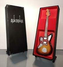 Kurt Cobain (Nirvana): 1965 Jaguar - Miniature Guitar Replica