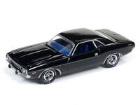 1973 Dodge Challenger Gloss Black 1:64 Model - AW64172-CHALLANGER *