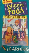 Disney's Winnie the Pooh-Making Friends from Pooh Learning(VHS 1994)TESTED-RARE