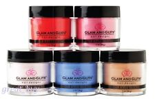 Glam and Glits Nail Design Acrylic Colored Powder 1 oz  _ Pick Any Color !!!