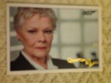 James Bond Archives 2015 Gold Foil Parallel Card 012 081/125 Quantum of Solace