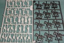 Eagle Games British 1800's India Cavalry +  Infantry 1/72 MOS gray Plastic
