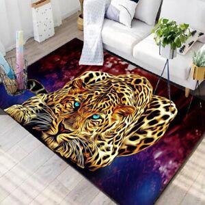Lurking Leopard Area Rugs For Kitchen Rug Living Room Floor Mat Non-slip Carpet