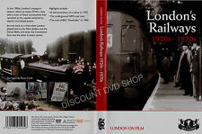 London's Railways 1920s-1970s. London on Film New DVD