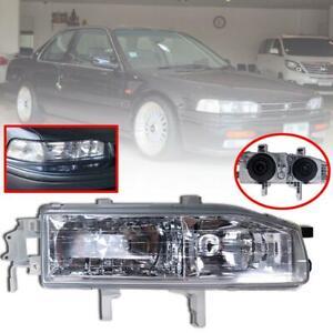 Head Lights Front Lamp RH Right Side Fit For Honda Accord CB7 Sedan 1992-1993