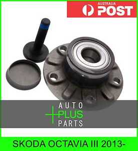 Fits SKODA OCTAVIA III 2013- - Rear Wheel Bearing Hub 30mm