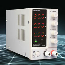 0 30v Lab Adjustable Dc Power Supply Precision Variable Digital Voltage Us Sale