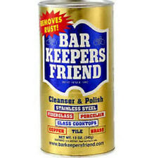 Bar Keeper's Friend Cleanser & Polish for Stainless Steel 12 oz (340 g)