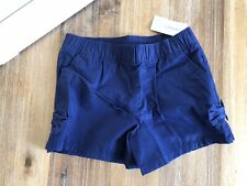 Carters Navy Shorts With Bows 7 Girls