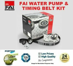 FAI WATER PUMP & TIMING BELT KIT for VOLVO V70 III D4 AWD 2013->on