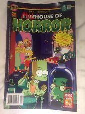 Bart Simpson's Milhouse Of Horror #4 (2004) Bongo/ Otter Comics