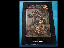 SIMON BISLEY: Fakk 2 (ed. Heavy Metal - PORTFOLIO AGUTOGRAFATO IN 2550 COPIE)