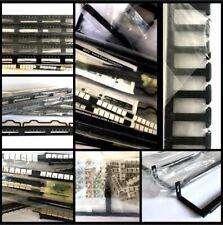 5 Siemon Mx-Pnl-24 Max Utp Empty Patch Panels + 19 Assorted Racks, Accessories