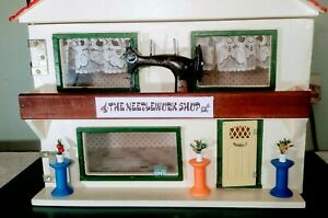 OOAK Lundby / Triang Dolls House Converted To A Haberdashery Shop & Extras Inc