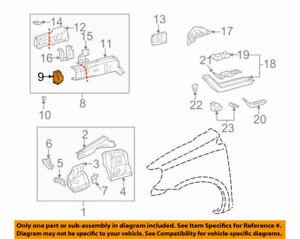 52141-52020 Toyota Arm, front bumper, rh 5214152020, New Genuine OEM Part